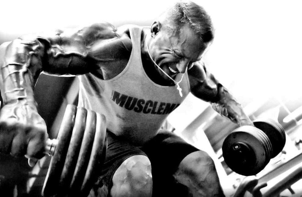 тренировка задний пучок плеча