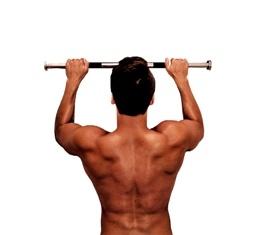 Подтягивания средним хватом, техника, мышцы